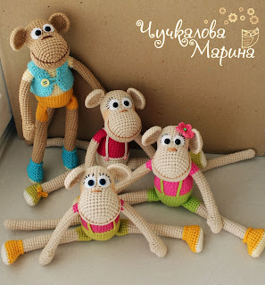 monkey crochet pattern
