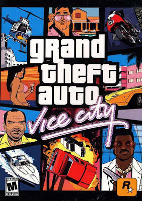 Grand Theft Auto (GTA) Vice City 247MB,بوابة 2013 GTA Vice City Poster