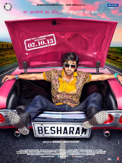 Besharam Poster Ranbir Kapoor
