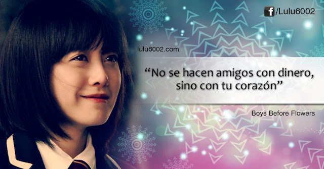 boys before flowers frases doramas kdramas kpop