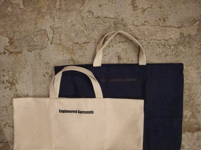 engineered garments sunrise market canvas tote bag present