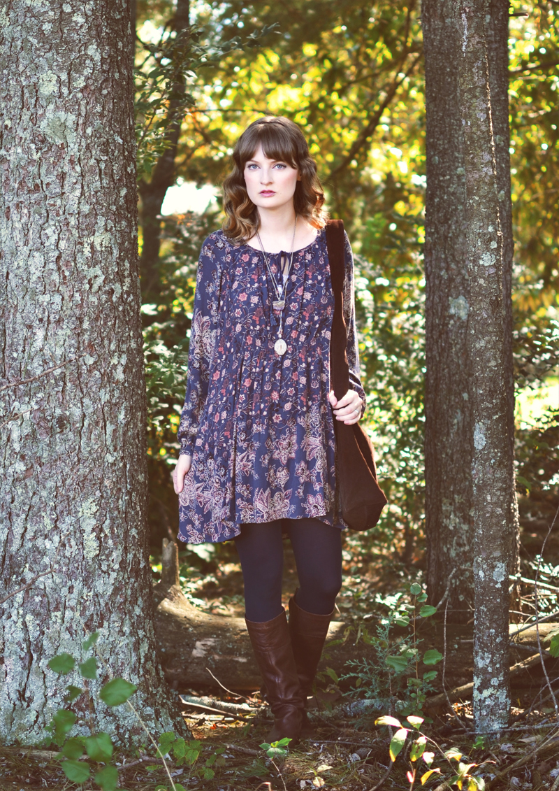 The Flying Clubhouse: Indigo   fall outfit