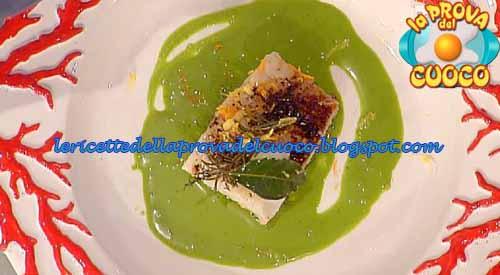 Baccalà con broccolo toscano rapette bianche e farina di carrube ricetta Pascucci da La Prova del Cuoco