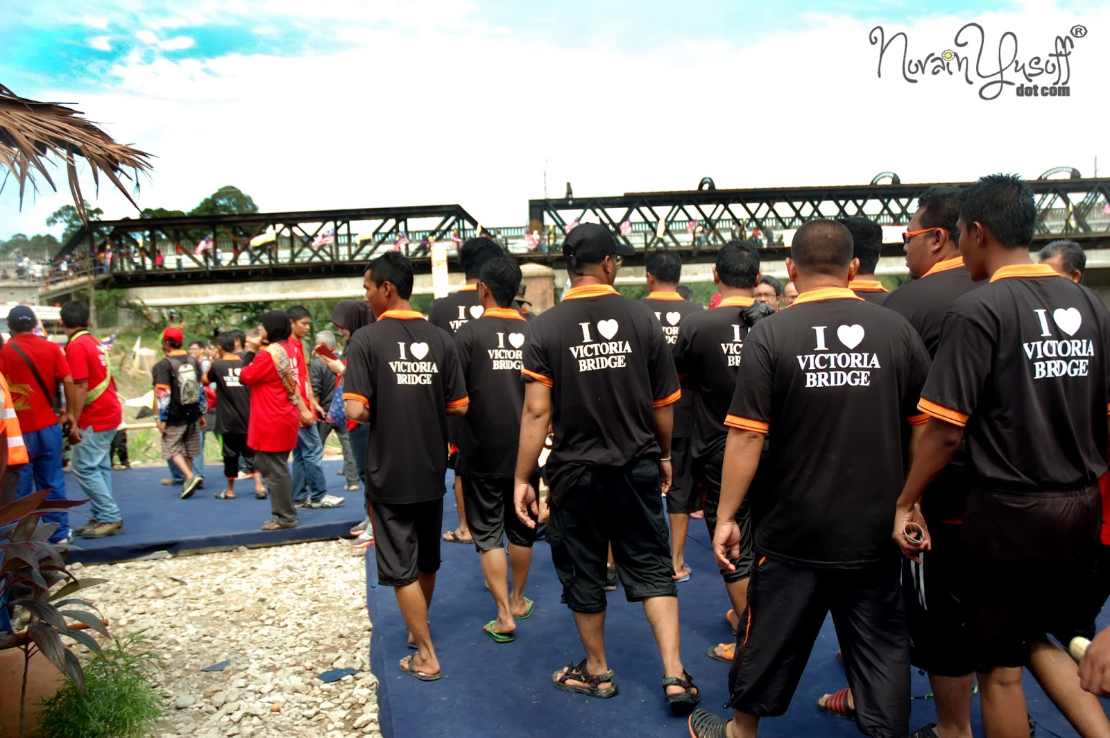Victoria Bridge Salah Satu Khazanah Warisan Negara Di Kuala Kangsar Perak
