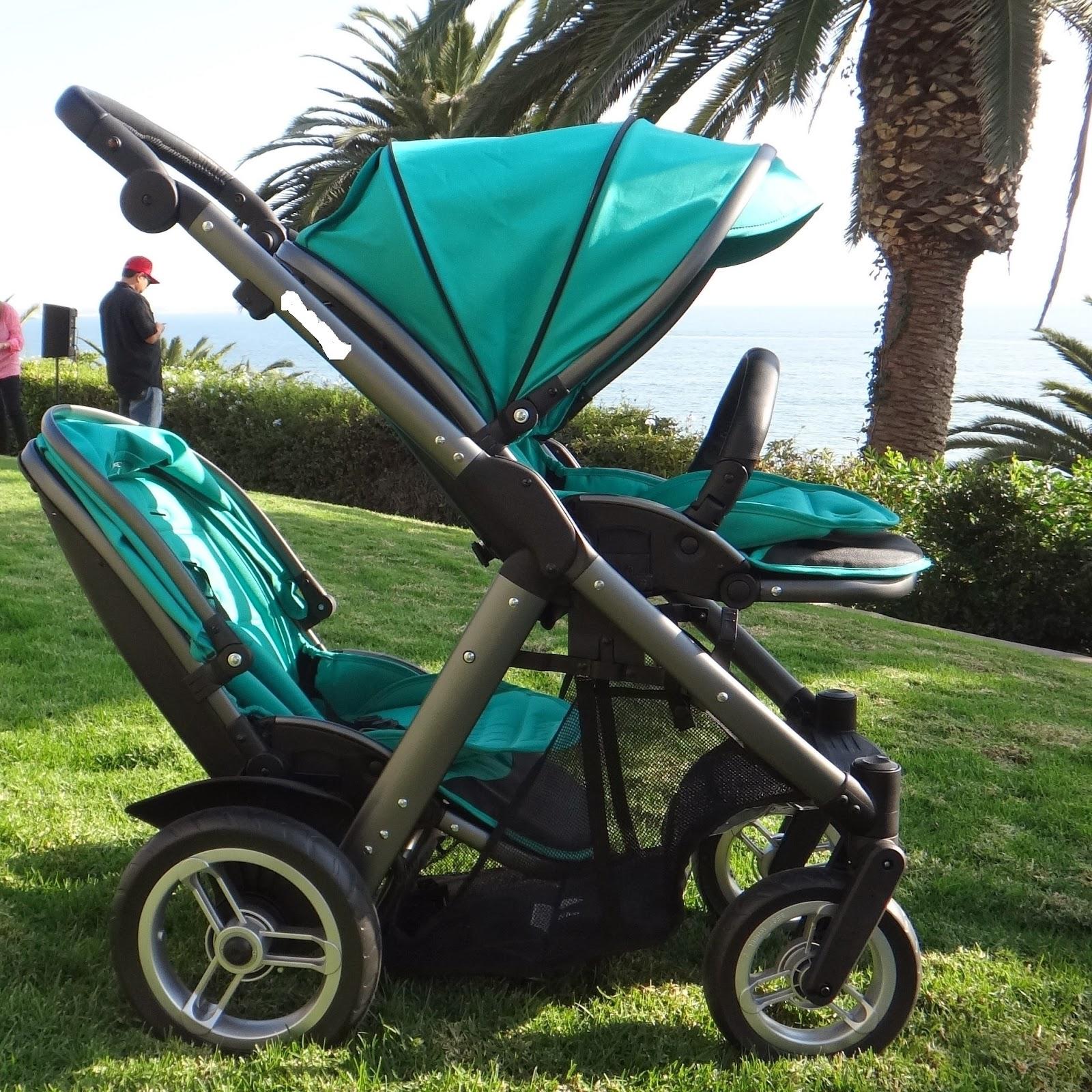 Inline Double Stroller