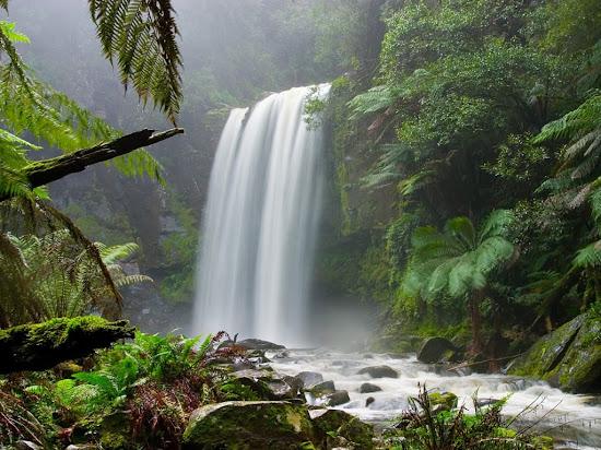 Que significa soñar con cascada de agua
