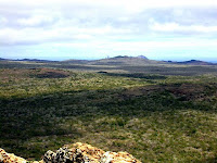 San Cristobal - a fusion of about four volcanos in the Galapagos Islands