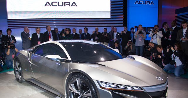 New Info Acura Nsx Mobil Model Unik Latest Car In 2013
