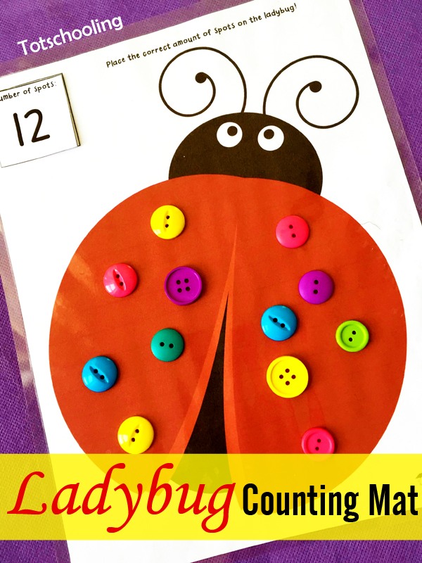 Learning with Ladybugs | Totschooling - Toddler, Preschool ...