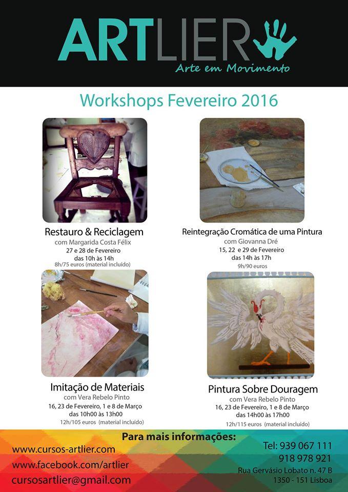 Workshops Lisboa 2016 (Mês de Fevereiro)