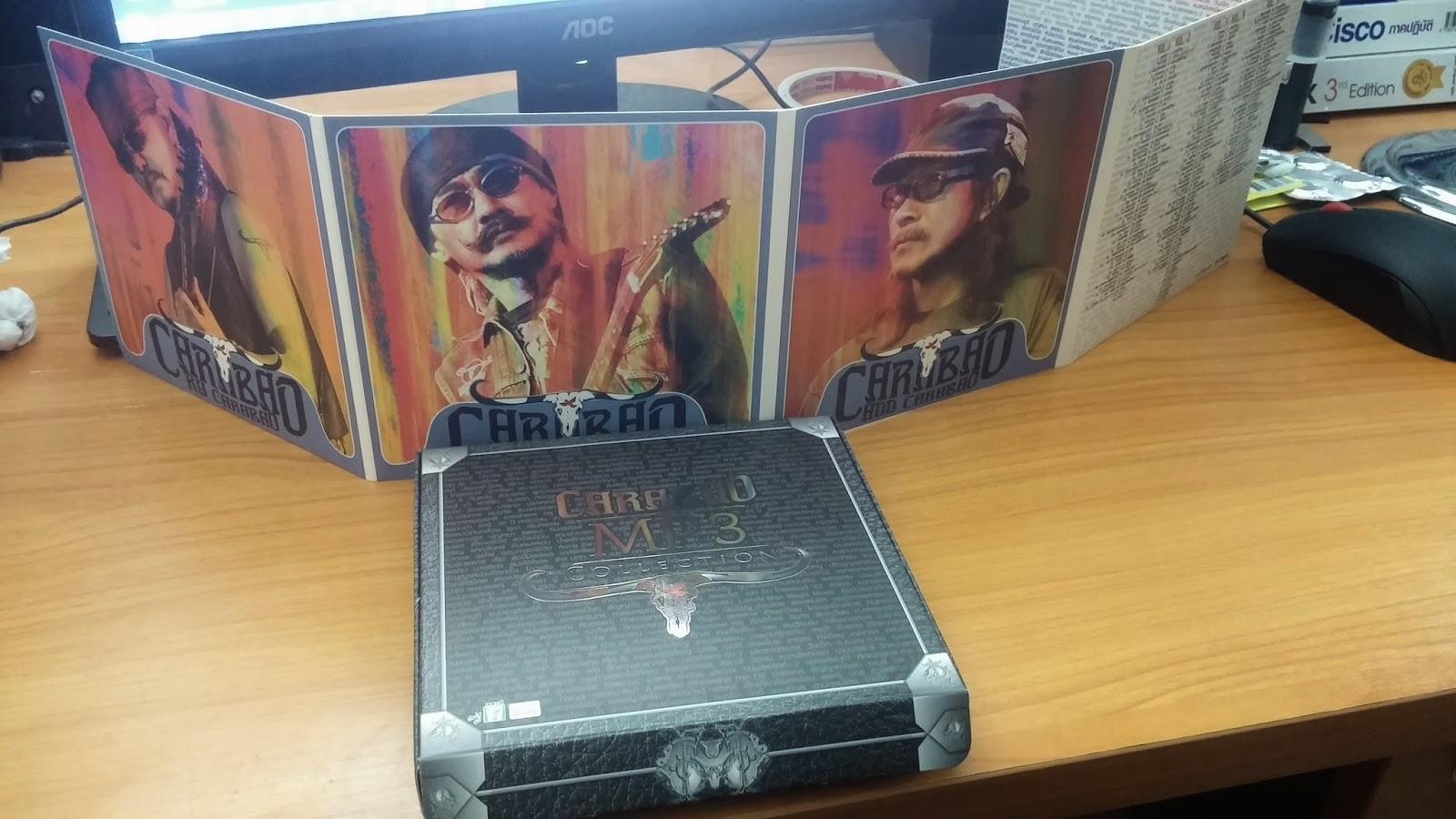 "Download [Mp3]-[Box Set] CARABAO MP3 COLLECTION รวบรวมผลงานเพลง 288 เพลง จาก 26 อัลบั้มของวงดนตรีหัวควายนาม ""คาราบาว"" @320kbps [Solidfiles] 4shared By Pleng-mun.com"