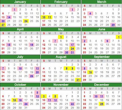 Opm Calendar | Calendar Template 2016