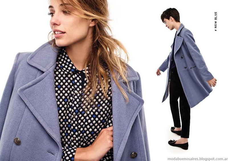 Portsaid otoño invierno 2015 moda tapados y sacos.
