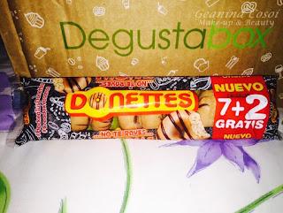 DONETTES DEGUSTABOX OCTUBRE 2015