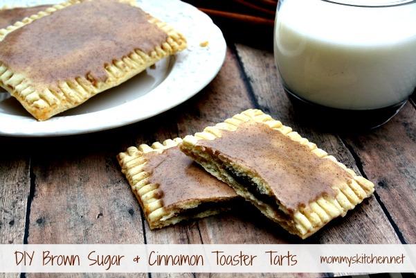... From my Texas Kitchen: DIY Brown Sugar & Cinnamon Toaster Tarts