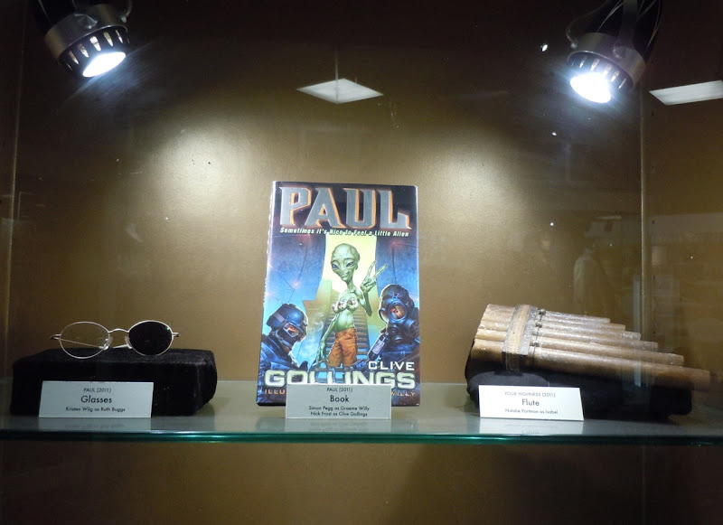 Paul and Your Highness movie props