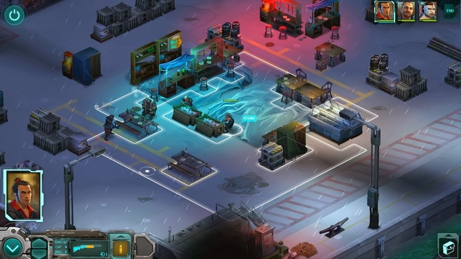 Shadowrun Returns screenshot
