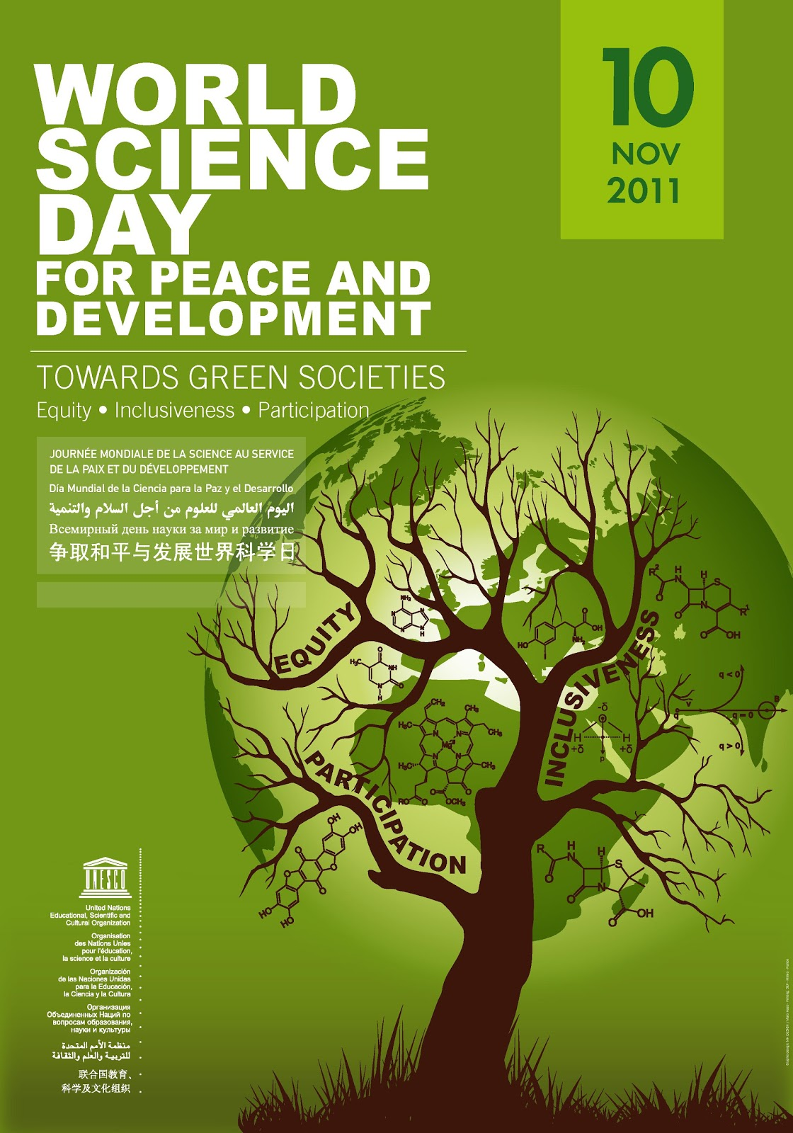 World Science Day 2011 http://developmentupdates.blogspot.com/2011/11/science-towards-green-societies-equity.html