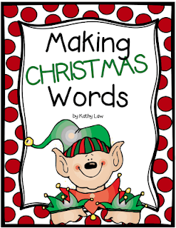http://www.teacherspayteachers.com/Product/Making-CHRISTMAS-Words-1010449