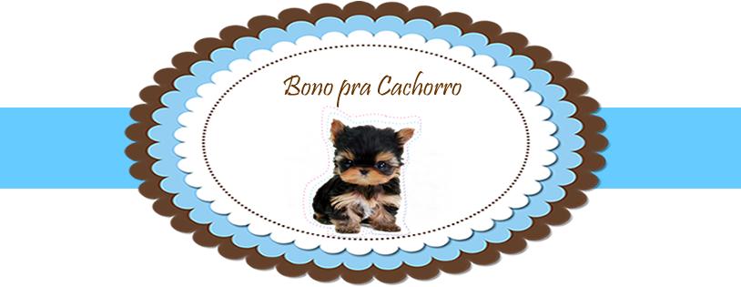Bono pra Cachorro