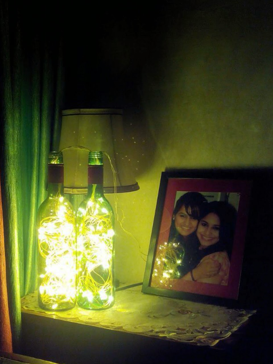 Lights For Wine Bottles Guilty Bytes Indian Fashion Blogger Style Blogger Beauty