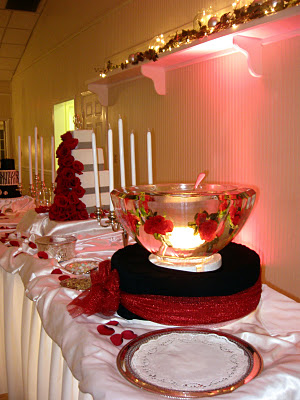 Cake And Punch Reception Decor : A Spot For Tea - A Sweet Life Poured Out: LaTashua Diane ...