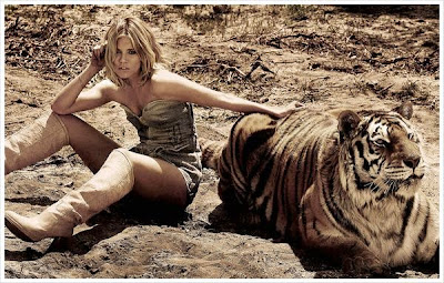 Girl and Tiger pictures