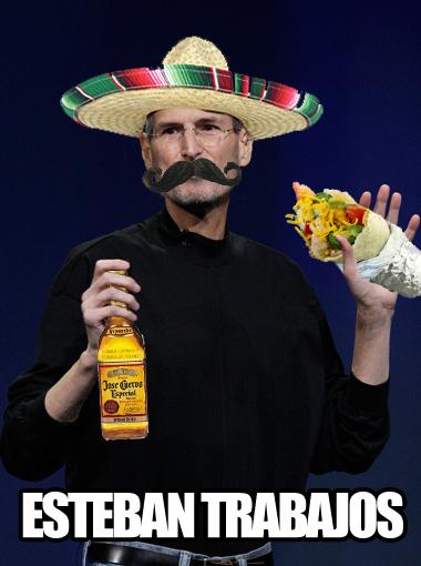 Steve jobs está en Mexico