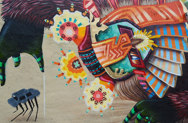 Street Art From Curiot On The Streets Of Mexico City. 4