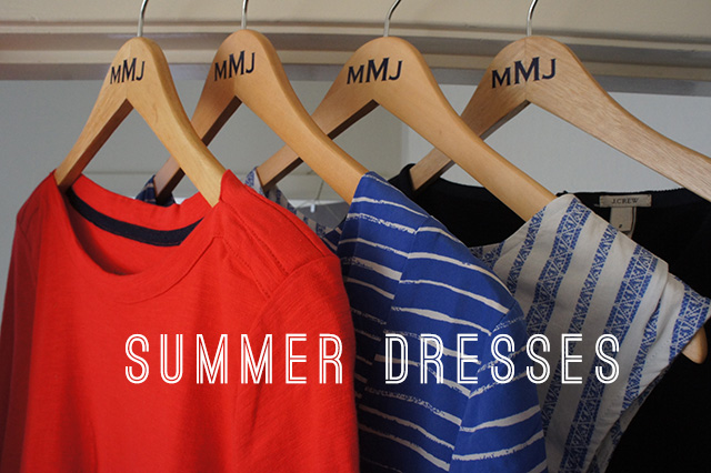 Summer dresses from J.Crew, Gap, Target