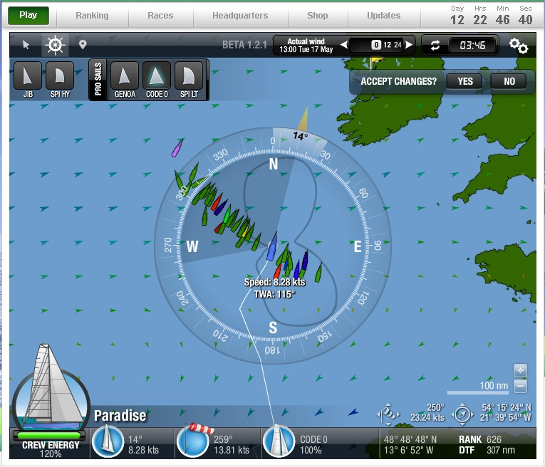 May The 4th Be With You Virtual Run: VolvoOceanRace 2014-15 Blog: Virtual Sailing Game