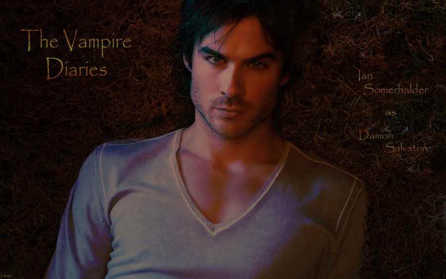damon wallpaper vampire diaries. Damon in Vampire Diaries