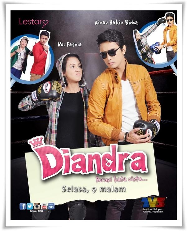 Keserasian Fathia & Aiman Cetuskan Konflik Dalam 'Diandra'