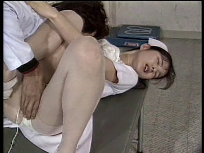 Manami plays nurse to asian male