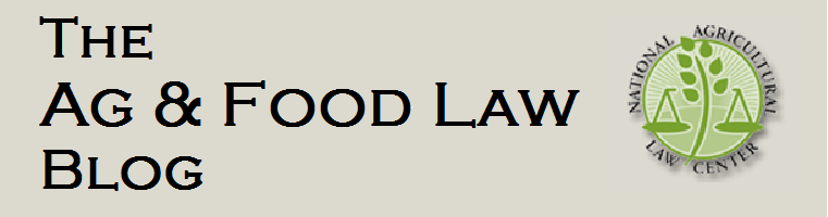 Ag & Food Law Blog