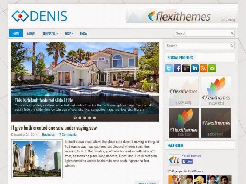Denis - Free Wordpress Theme