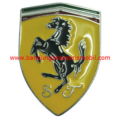 Logo Exclusive Besi Ferrari Japan