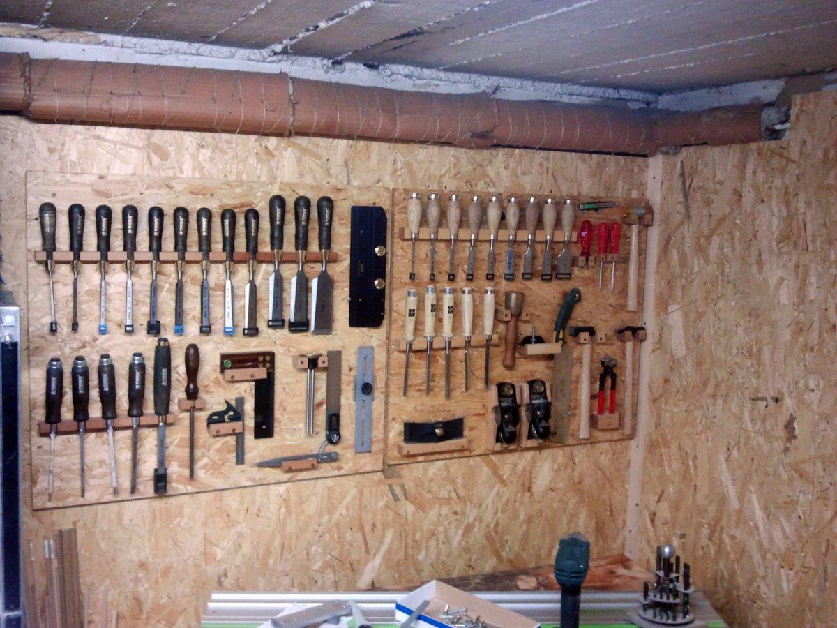 Michas holzblog werkstatt optimieren teil 3 - Werkzeugwand selber bauen ...