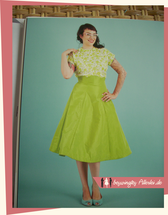Nähen, Kollektion, 1952, Vogue, Rockabella