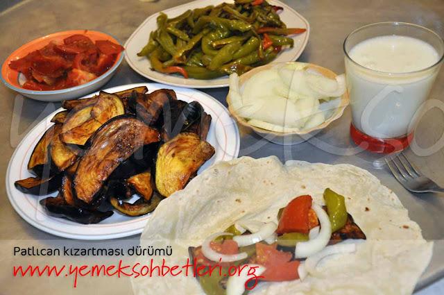 patlican kizartmasi, patlican durum, yemek tarifi, yaz yemekleri, pratik lezzetler, pratik yemekler