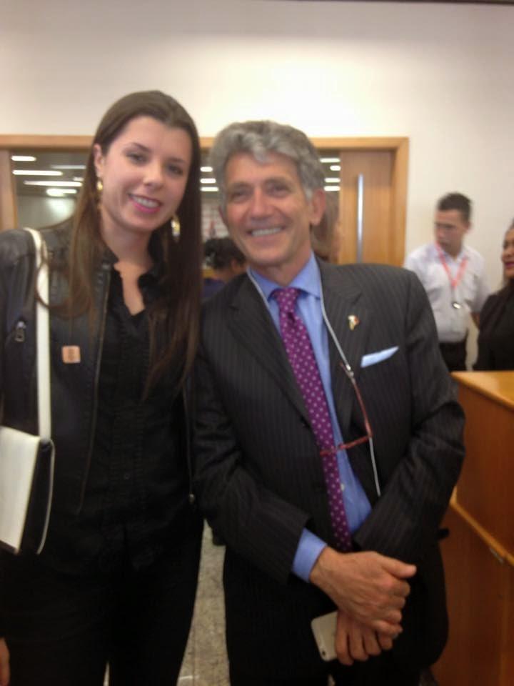 """Momento""""I love Sicily""""com Bruno  Caruso- Secretário do Governo Região da Sicília"""