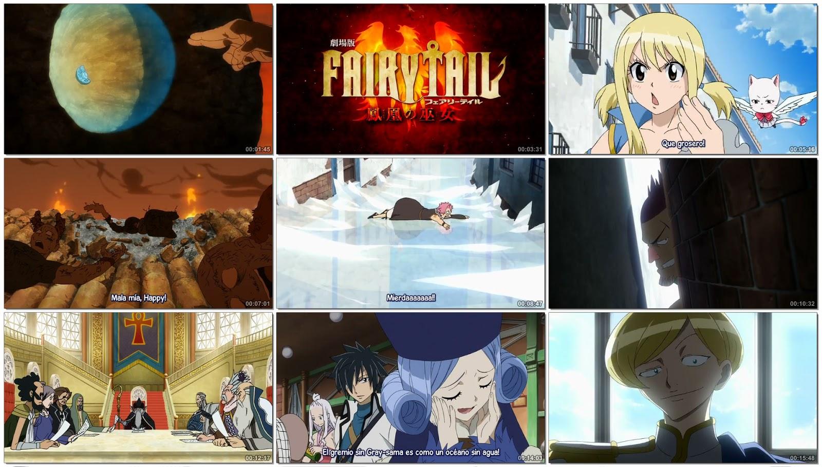 Fairy Tail Houou No Miko Sub Espanol