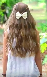 Infinity Braid with Bow Hairstyle Tutorial