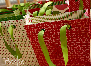 Jolly Holiday Gift Bags