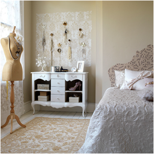 Vintage style teen girls bedroom ideas room design ideas for Vintage bedroom design