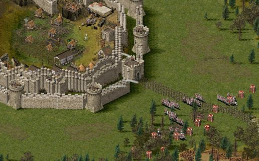 how to make stronghold crusader challenging