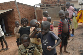 African children happy