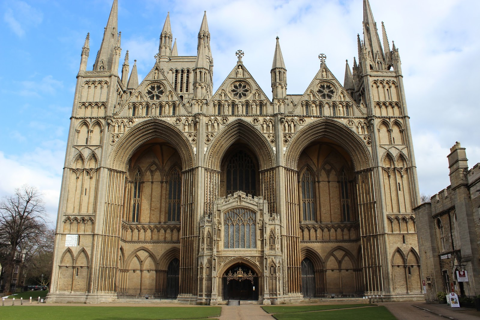 Management Review Meeting and Peterborough Cathedral ...