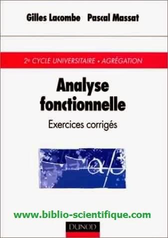 Livre gratuit Analyse fonctionnelle, exercices corriges - Dunod