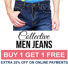 Yepme Men Jeans Buy 1 Get 1 Free (Pack of 2 Starts at Rs.474) From Yepme.com